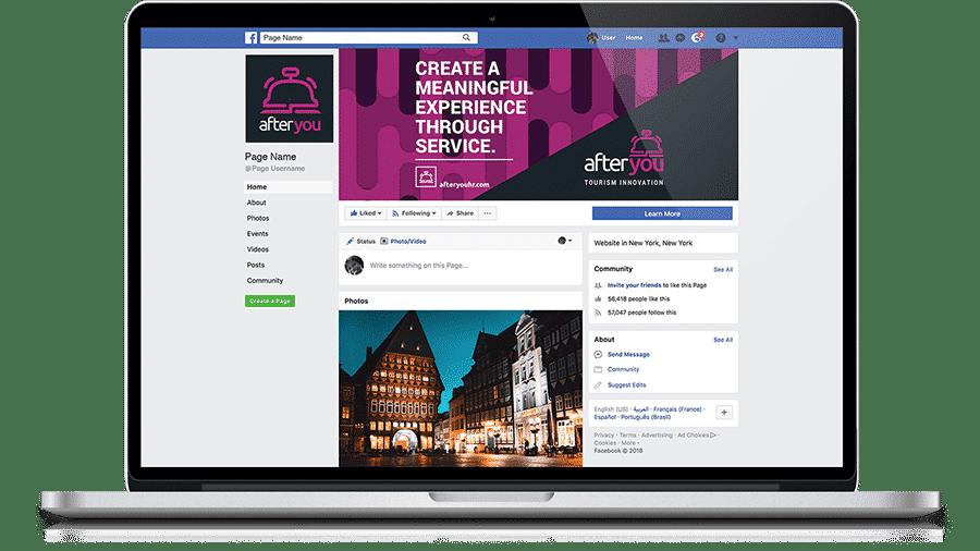 After You BVI Branding Design for Facebook