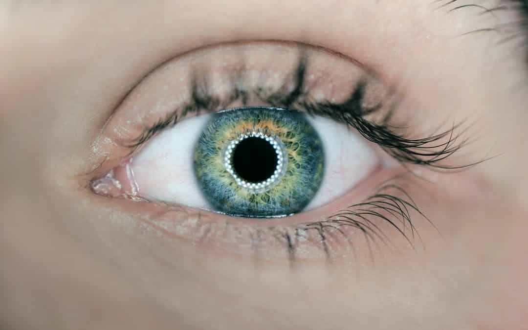 a woman's eyeball wondering how to Build Brand Awareness Online