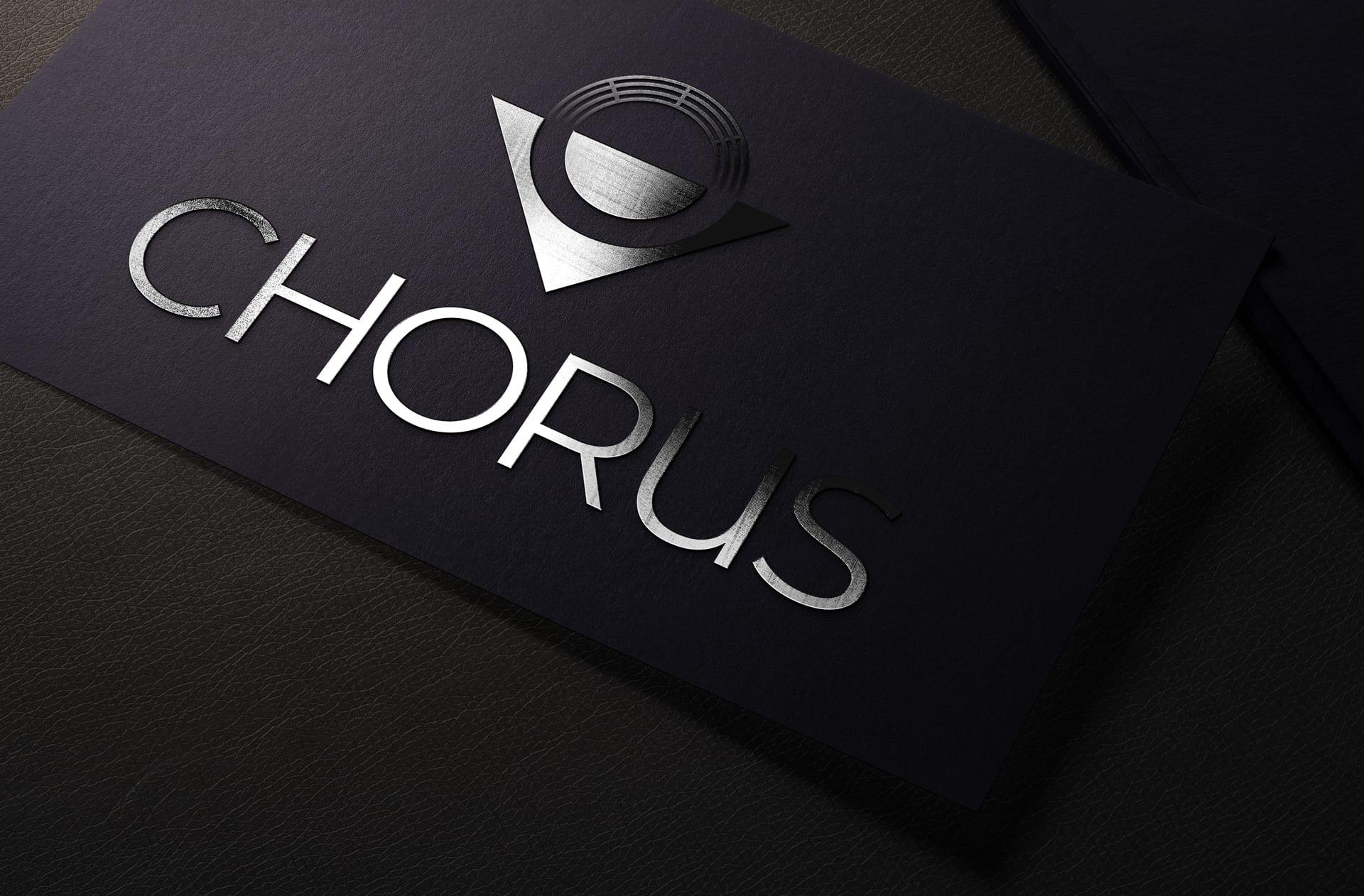spot uv chorus logo