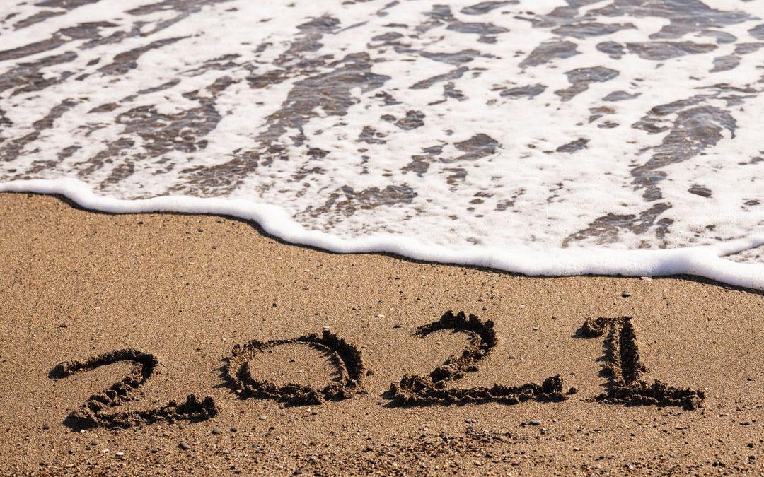 beach wave running over 2021 digital marketing tips